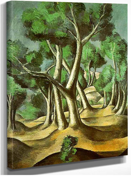 Cubist Grove By Andre Derain