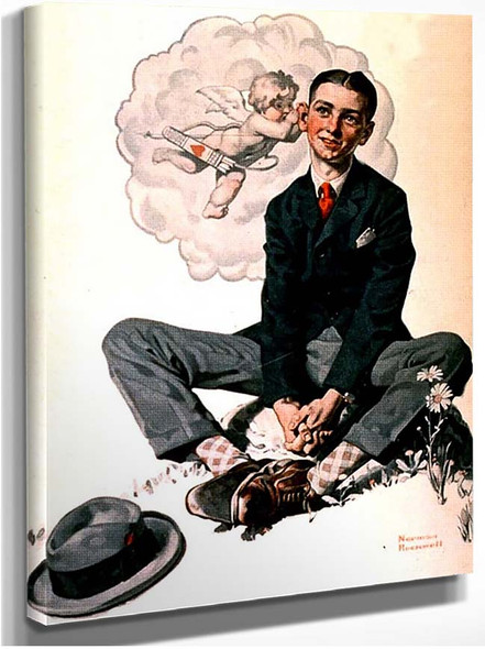 Cupid By Norman Rockwell