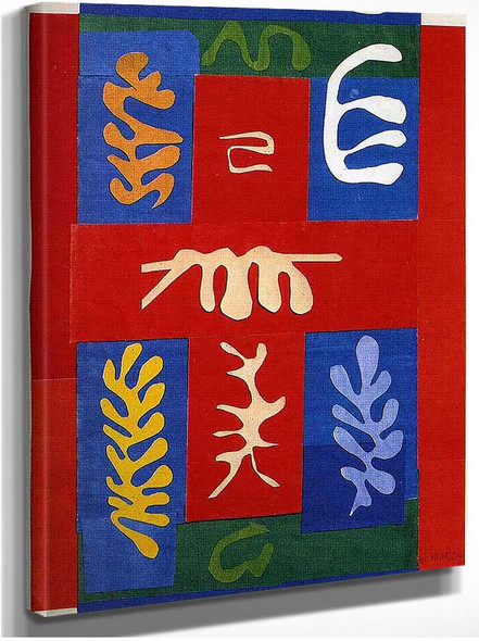 Cut Outs 4 By Henri Matisse