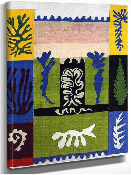 Cut Outs 5 By Henri Matisse