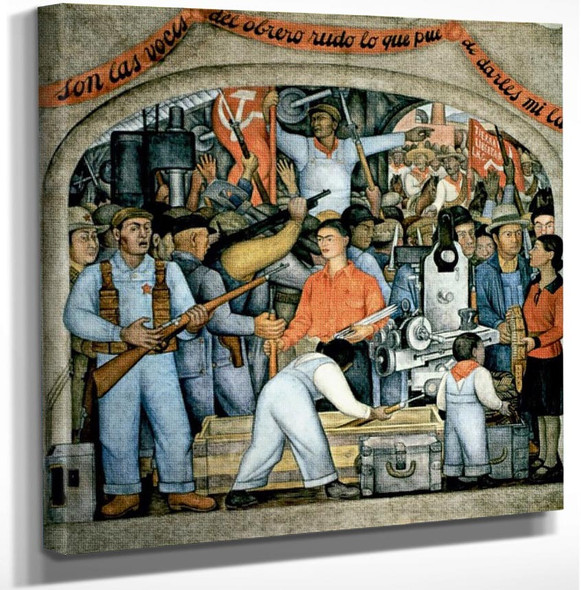 Ballad Of The Revolution by Frida Kahlo Art Reproduction from Wanford.