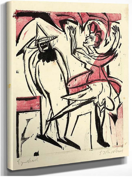 Dance By Ernst Ludwig Kirchner