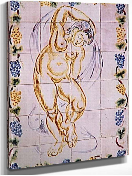Dancer Or Nymph 1907 By Henri Matisse
