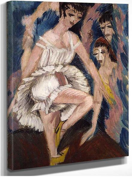 Dancer By Ernst Ludwig Kirchner