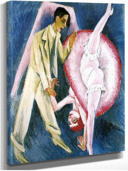 Dancing Couple 1914 By Ernst Ludwig Kirchner