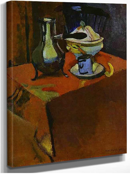 Dishes On A Table By Henri Matisse
