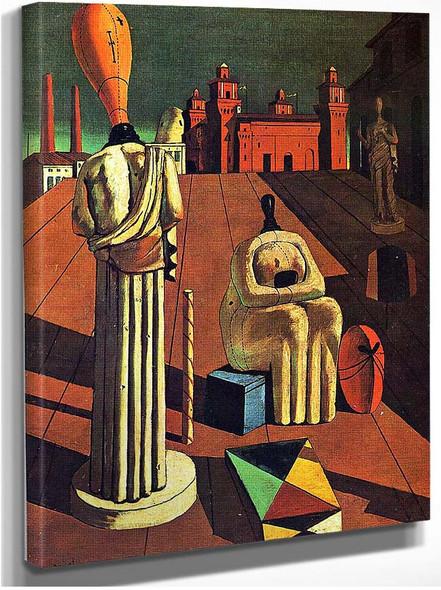 Disturbing Muses 1918 By Giorgio De Chirico