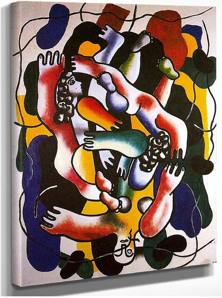 Divers Polychrome By Fernand Leger