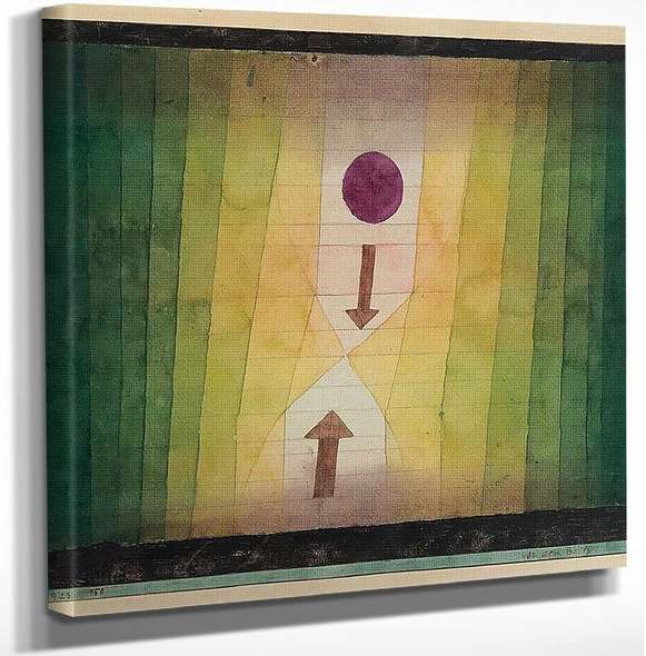Before The Blitz 1923 By Paul Klee Art Reproduction from Wanford.