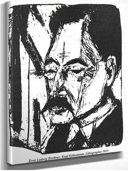 Dr O Kohnstamm By Ernst Ludwig Kirchner