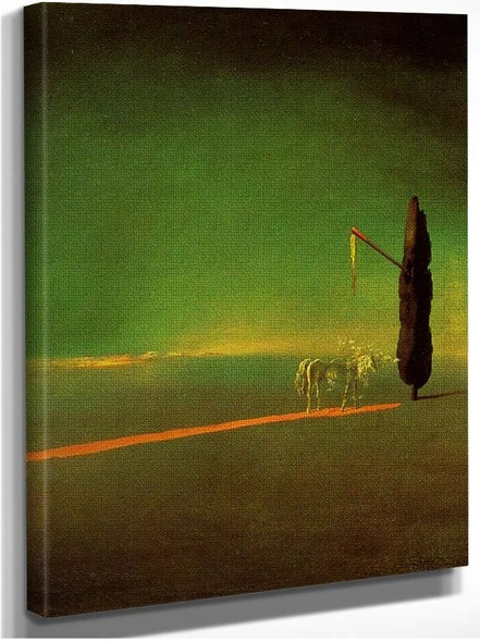 Eclipse And Vegetable Osmosis By Salvador Dali