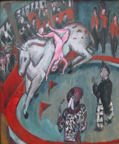 Equestrienne 1 By Ernst Ludwig Kirchner Art Reproduction from Wanford