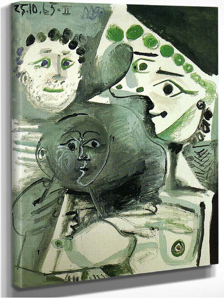 Family 1965 By Pablo Picasso