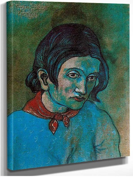 Female Head By Pablo Picasso