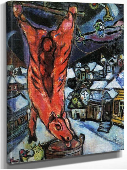 Flayed Ox 1947 By Marc Chagall
