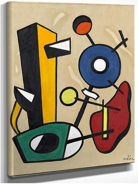 Forms In Space 1950 By Fernand Leger