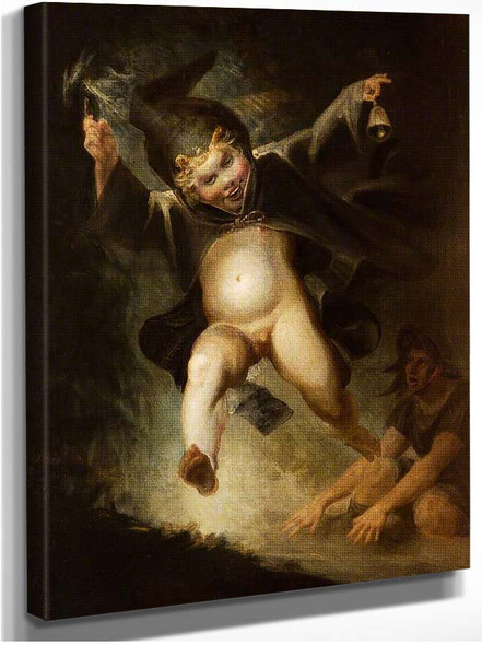 Friar Puck By Henry Fuseli