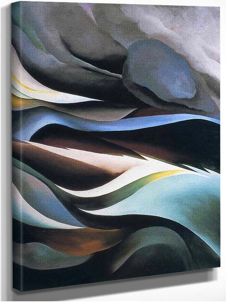 From The Lake By Georgia O Keeffe