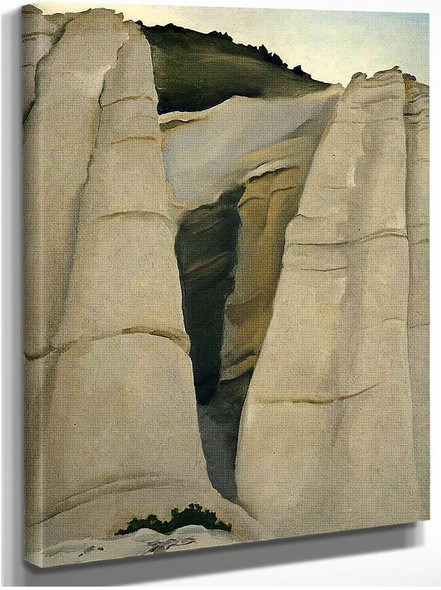 From The White Place By Georgia O Keeffe