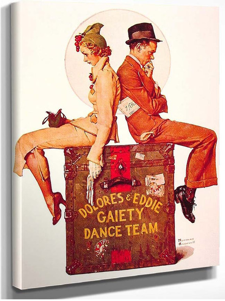 Gaiety Dance Team 1937 By Norman Rockwell