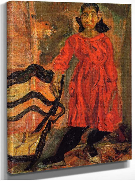 Girl In Red By Chaim Soutine
