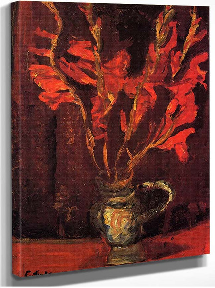 Gladioli 1919 By Chaim Soutine