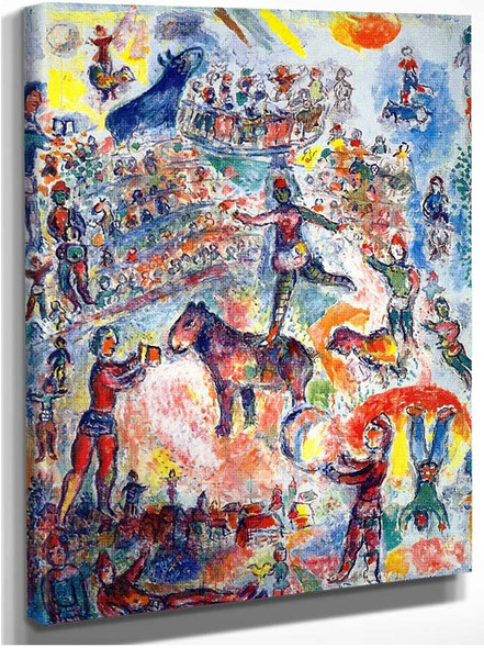 Great Circus 1984 By Marc Chagall
