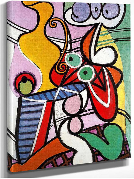 Great Still Life On Pedestal 1931 By Pablo Picasso