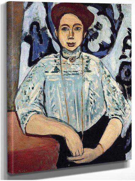 Greta Moll 1908 By Henri Matisse