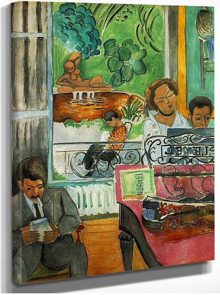 He Music Lesson 1917 By Henri Matisse