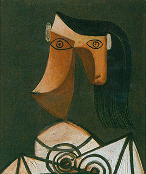 Head Of A Woman By By Pablo Picasso Art Reproduction from Wanford