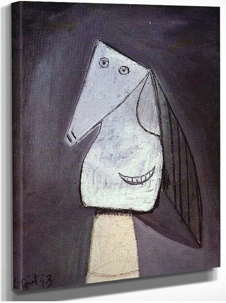 Head Of Woman 1943 By Pablo Picasso