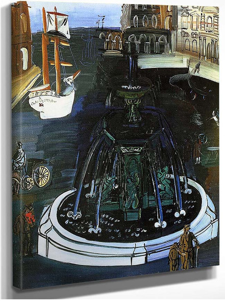 Homage To Claude Lorrain 1927 By Dufy Raoul