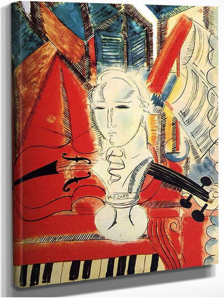 Homage To Mozart By Dufy Raoul
