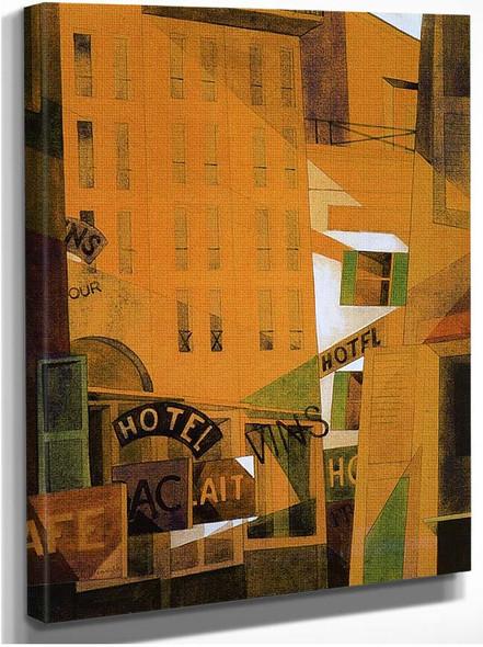 Hotel By Charles Demuth