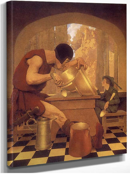 Jack The Giant Killer By A11 By Maxfield Parrish