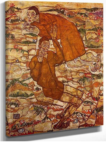 Levitation 1915 By Egon Schiele