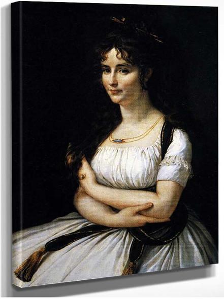 Madame Pasteur By Gros Antoine Jean