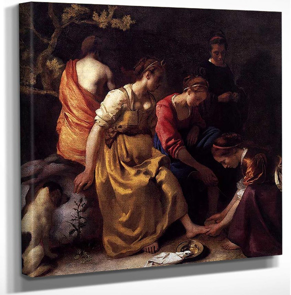 Diana And Her Companions By Vermeer Johannes Art Reproduction from Wanford.