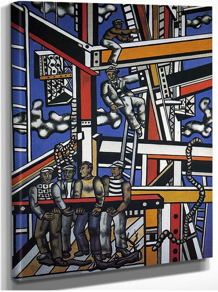 Manufacturers 1950 By Fernand Leger