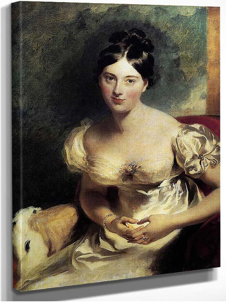 Margaret Countess Of Blessington By Lawrence Sir Thomas