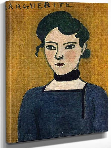 Marguerite 1907 By Henri Matisse