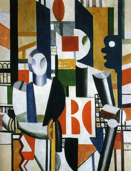 Men In The City 1919 By Fernand Leger Art Reproduction from Wanford