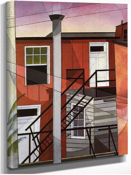 Modern Conveniences By Charles Demuth