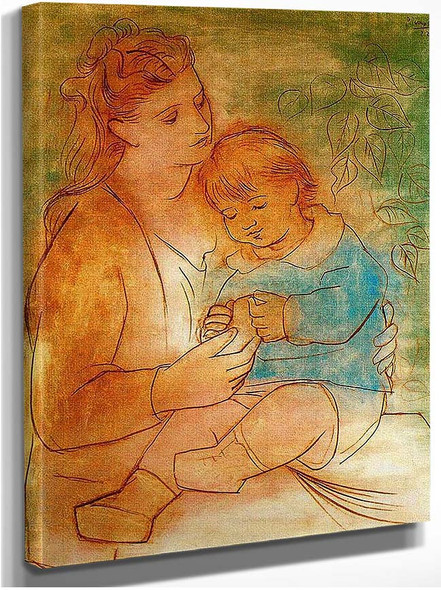Mother And Child 1922 By Pablo Picasso