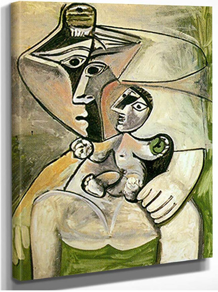 Mother And Child By Pablo Picasso