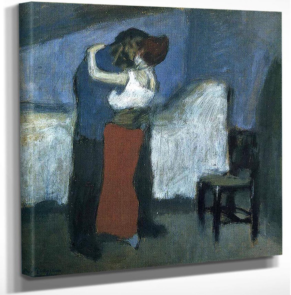 Embrace By Pablo Picasso Art Reproduction from Wanford.