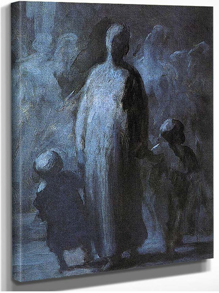 Mother By Daumier Honore