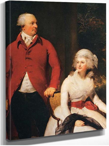Mr And Mrs John Julius Angerstein Detail By Lawrence Sir Thomas