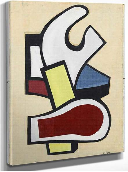 Mural 1953 By Fernand Leger